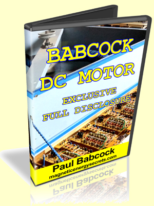 Babcock DC Motor by Paul Babcock
